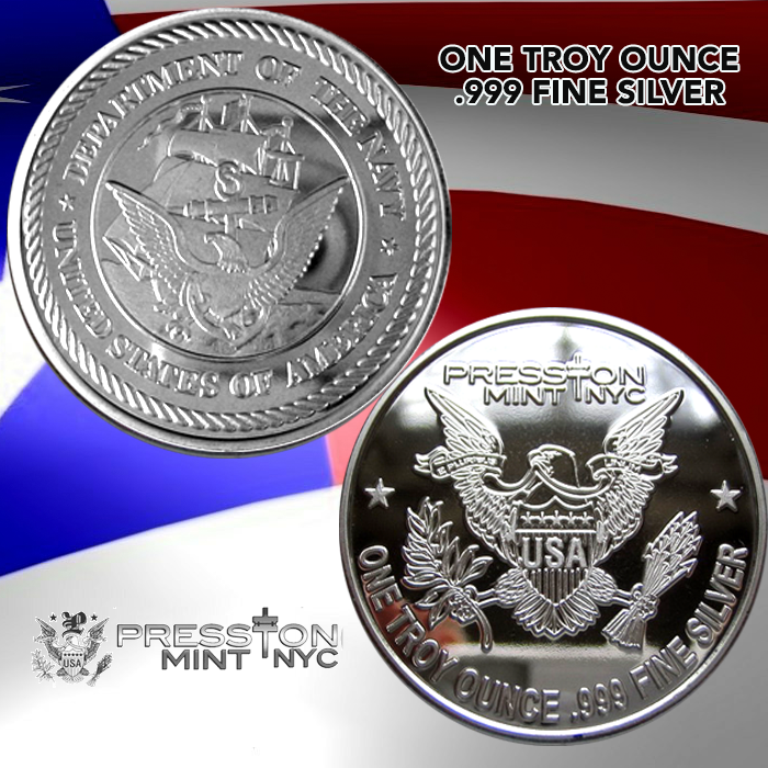 One Troy Ounce 999 Fine Silver June 2019